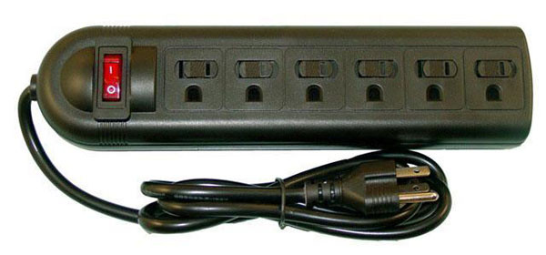 Surge Protector Hidden Safe - 6 Plug - AFG Distribution