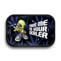 "Take Me To Your Dealer Rolling Tray - 11.25""x7.25"""