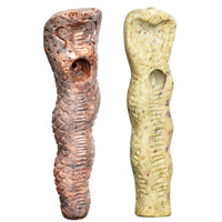 Textured Cobra Carved Stone Pipe | Wholesale Distributor