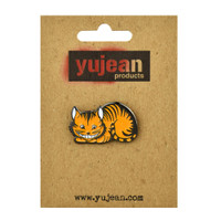 The Cheshire Cat Enamel Lapel Pin | Wholesale Distributor
