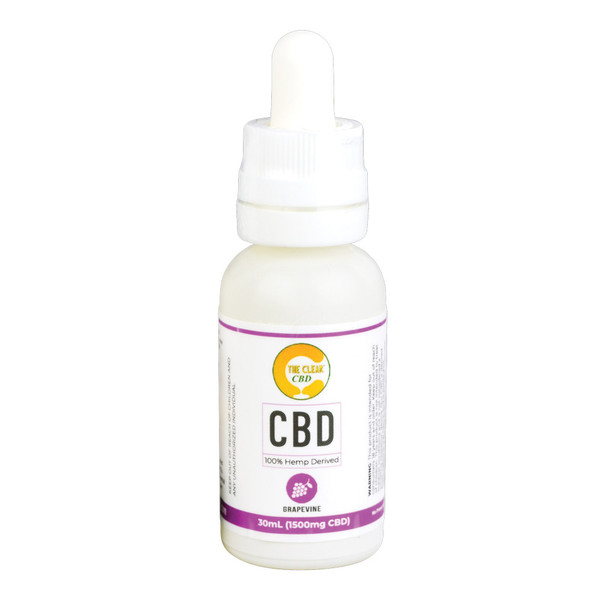 The Clear CBD Vape Liquid - 30ml | Grape | Wholesale
