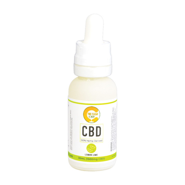 The Clear CBD Vape Liquid - 30ml | Lemon Lime | Wholesale