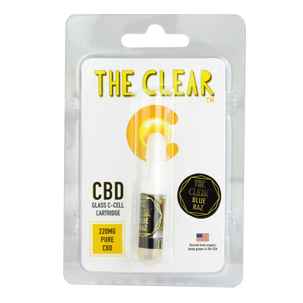 The Clear CCell .5ML CBD Cartridge - 220MG | Blue Raspberry