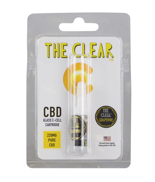 The Clear C-Cell CBD Cartridge - 220MG | Grapevine