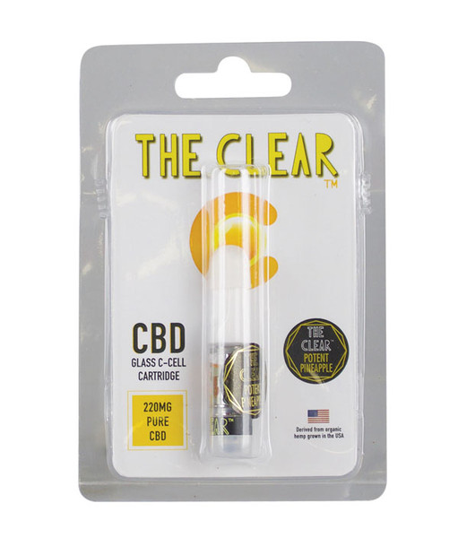 The Clear C-Cell CBD Cartridge - 220MG | Pineapple