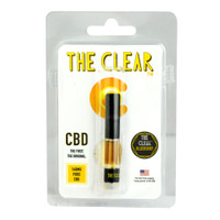 The Clear Original CBD Cartridge - 140MG | Blueberry | Wholesale