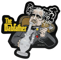 The Dabfather Sticker - 4x4.25 - AFG Distribution