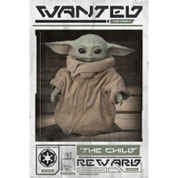 The Mandalorian Wanted The Child Poster | Wholesale