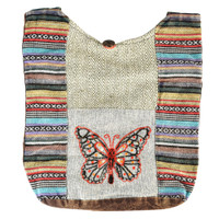ThreadHeads Butterfly Woven Shoulder Bag | Wholesale