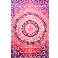 ThreadHeads Fancy Pink Mandala Tapestry | Wholesale Distributor