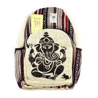 ThreadHeads Himalayan Hemp Ganesha Backpack | Wholesale