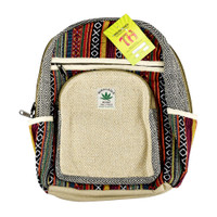 ThreadHeads Hemp Woven Mini Backpack | Wholesale Distributor