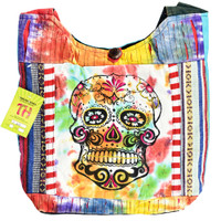 ThreadHeads Multi-Pattern Sugar Skull Patch Bag | Wholesale
