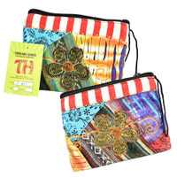 ThreadHeads Patched Flower Coin Pouch | Wholesale