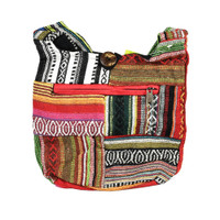 ThreadHeads Patched Southwestern Cross-body Bag | Wholesale
