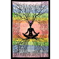 ThreadHeads Rooted Chakra Meditation Tapestry | Wholesale