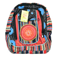 ThreadHeads Southwestern Flower Backpack | Wholesale Distributor