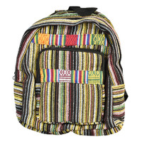 ThreadHeads Striped Backpack w/ Rainbow Accents | Wholesale
