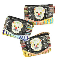 ThreadHeads Sugar Skull Coin Pouch | Wholesale Distributor