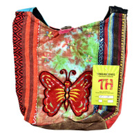 ThreadHeads Tie-Dye Butterfly Shoulder Bag | Wholesale Distributor