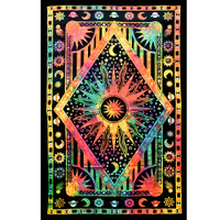 ThreadHeads Tie Dye Center of the Universe Tapestry | Wholesale