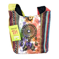 ThreadHeads Tie-Dye Dream Catcher Shoulder Bag | Wholesale