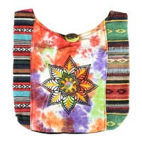 ThreadHeads Tie-Dye Flower Shoulder Bag | Wholesale Distributor