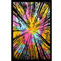 ThreadHeads Tie Dye Forest Sky Tapestry | Wholesale Distributor