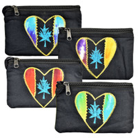 ThreadHeads Tie Dye Heart Coin Pouch | Wholesale Distributor