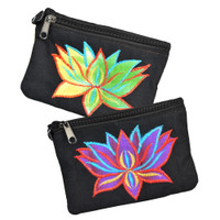 ThreadHeads Tie-Dye Lotus Coin Pouch | Wholesale Distributor