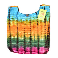ThreadHeads Tie-Dye Ribbed Textured Streaks Bag | Wholesale
