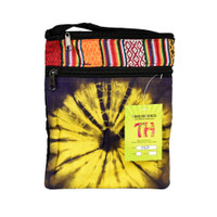ThreadHeads Tie-Dye Sunburst Accent Shoulder Bag | Wholesale
