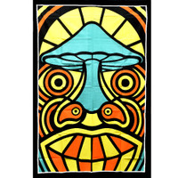 ThreadHeads Tribal Mushroom Man Tapestry | Wholesale