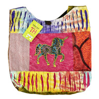 ThreadHeads Unicorn Patchwork Shoulder Bag | Wholesale