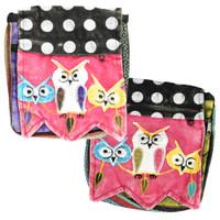 ThreadHeads Watchful Owl Trio Shoulder Bag | Wholesale