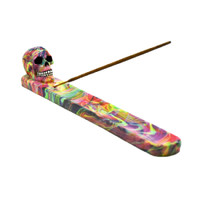 Tie Dye Skull Incense Burner | Wholesale Distributor