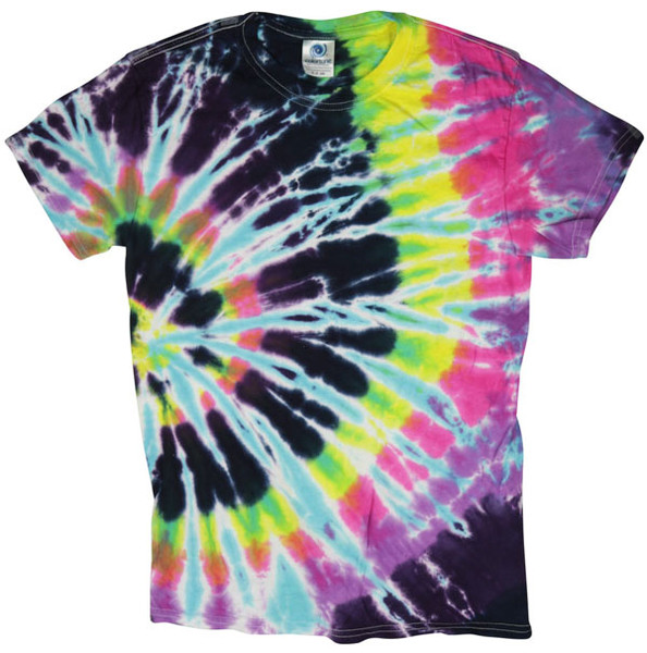 Tie-Dye T-Shirt - Flashback - Medium - AFG Distribution