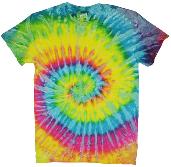 Tie-Dye T-Shirt - Saturn - Large - AFG Distribution