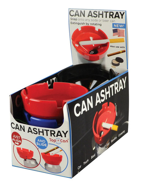 Top A Can Ashtray - 3.25"