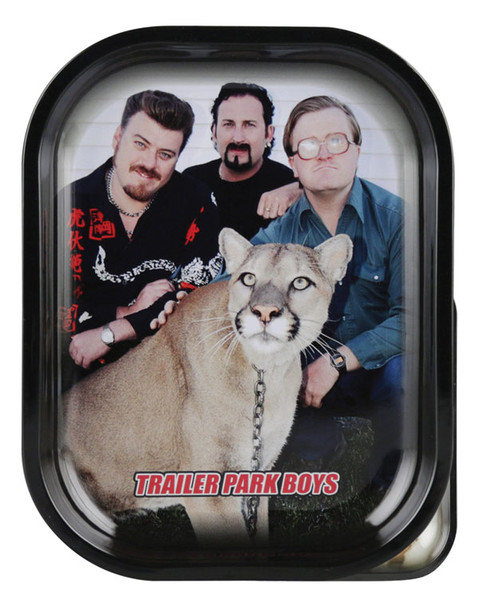 Trailer Park Boys Rolling Tray - Big Kitty / 10.75x13.5 - AFG Distribution