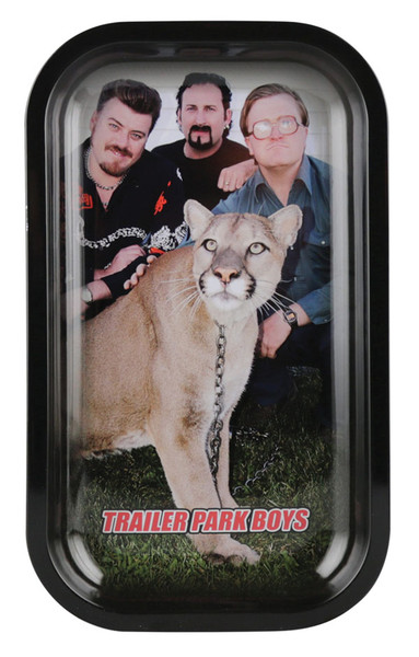 Trailer Park Boys Rolling Tray - Big Kitty / 6.25x10.5 - AFG Distribution