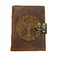 Tree of Life Soft Leather Journal | Wholesale Distributor