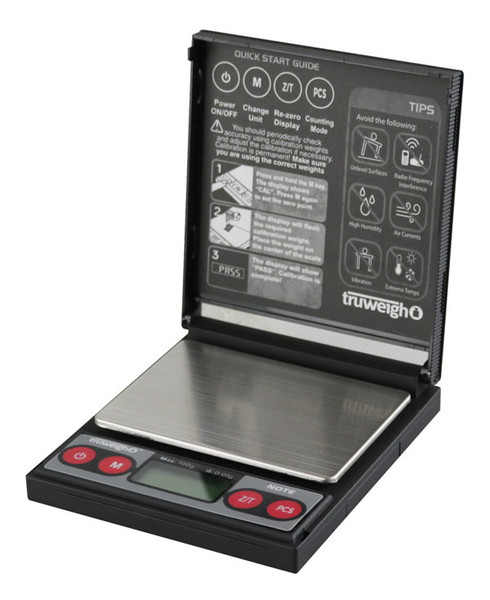 Truweigh Note Digital Mini Scale - 100g x 0.01g