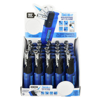 Turbo Blue Pivoting Jet Lighter | 25pc Display | Master Distributor