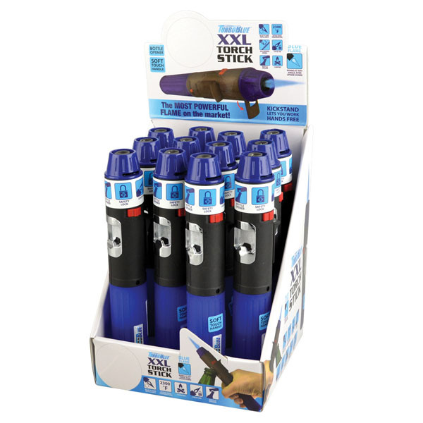 Turbo Blue Torch Stick Lighter - 6.75"
