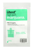 UTest Single Panel Drug Screen Test - THC 15ng/ml