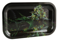 "V Syndicate Rolling Tray - OG Kush / 10.5""x6.25"" / Medium"
