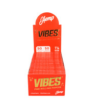 VIBES Hemp Rolling Papers | 1 1/4 | Wholesale Distributor