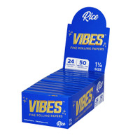VIBES Rice Rolling Papers | 1 1/4 | Wholesale Distributor