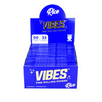 VIBES Rice Rolling Papers | Kingsize Slim | Wholesale Distributor